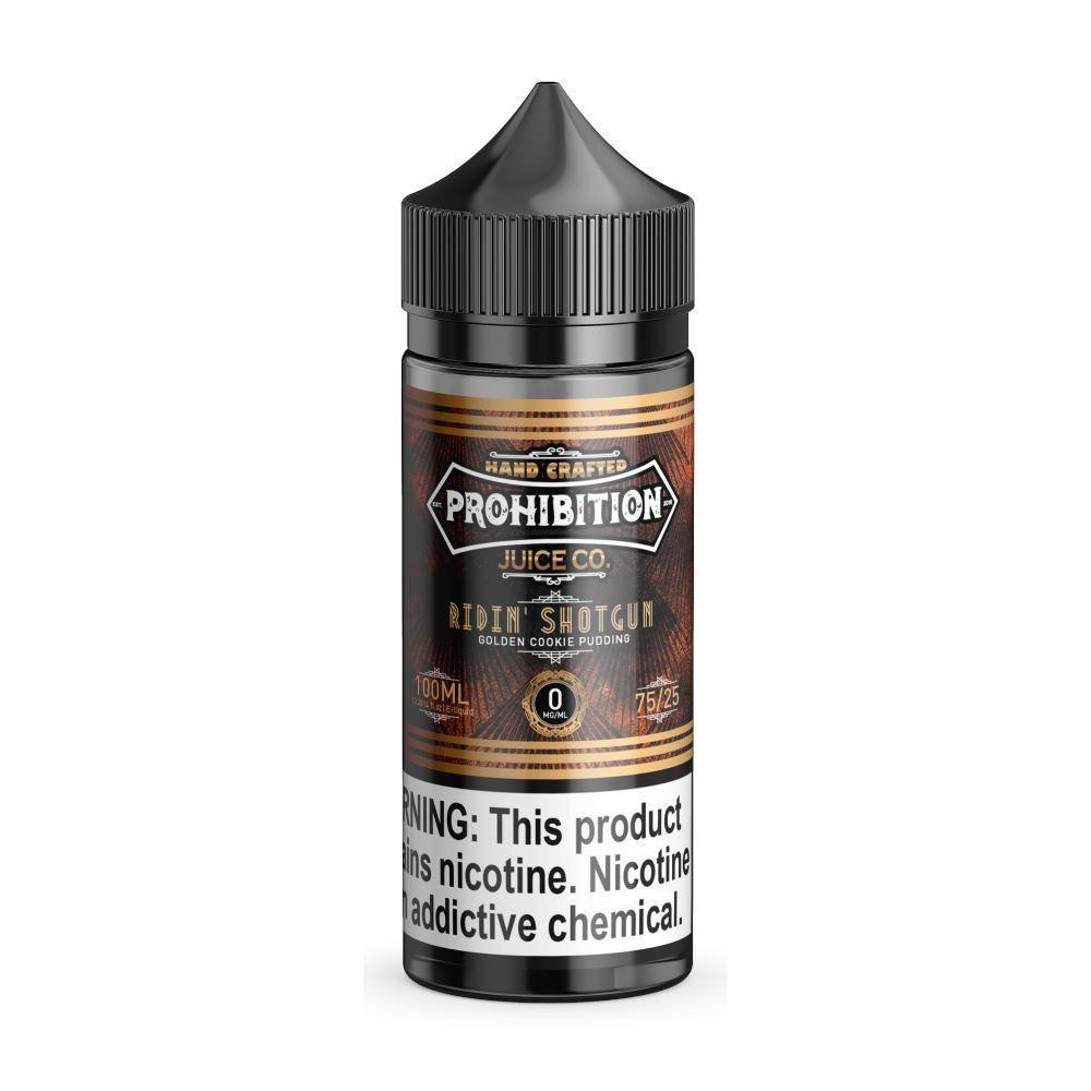 Prohibition Ridin Shotgun Eliquid