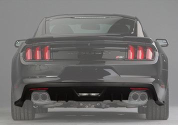 2015-2017 Ford Mustang ROUSH Rear Valance Kit - Not Prepped for Backup Sensors