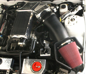 2007-2014 Shelby GT500 JLT Plastic SUPER Big Air CAI Kit Textured Black (SHP CUSTOM TUNE NEEDED)