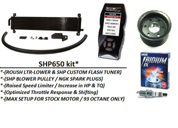 2011-2014 F-150 SHP650FR* Performance Upgrade for ROUSH TVS SC (6.2L)