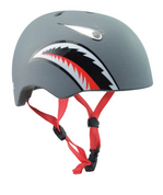 PIT KIDS SHARK HELMET