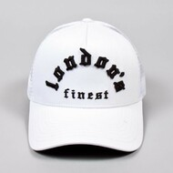WHITECHAPEL TRUCKER CAP-WHITE