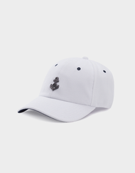 C&S WL STAY DOWN CURVED CAP WHITE