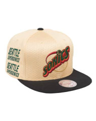 OMNI BRANDED SNAPBACK SEATTLE SUPERSONICS