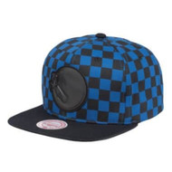 CHECKERED CROWN SNAPBACK GOLDEN STATE WARRIORS