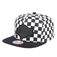 CHECKERED CROWN SNAPBACK LOS ANGELES LAKERS