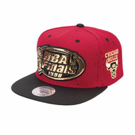 MIST GOLD SNAPBACK CHICAGO BULLS