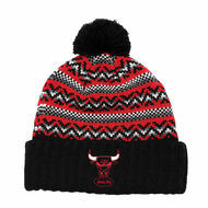 JACKED POM KNIT CHICAGO BULLS