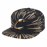 NUCLEO GOLD SNAPBACK CLEVELAND CAVALIERS