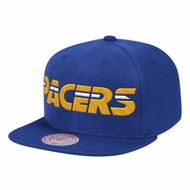 WOOL SOLID SNAPBACK INDIANA PACERS