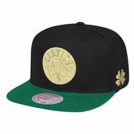 GOLD TIME SNAPBACK BOSTON CELTICS