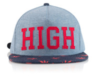 HIGHLIFE RED STRAPBACK