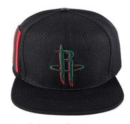 HOUSTON ROCKETS LOGO(GUCCI COLORS)