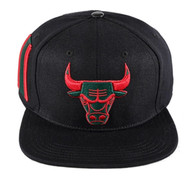 CHICAGO BULLS BULL LOGO STRAPBACK(GUCCI COLORS)