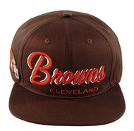 CLEVELAND BROWNS DROPSHADOW STRAPBACK