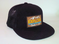 EXPLORE TERRY CLOTH MESH SNAPBACK