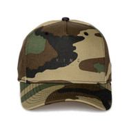LEYTON CURVED PEAK CAP-CAMO