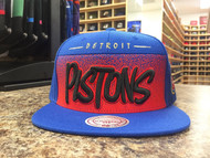 FADE TO GOLD SNAPBACK DETROIT PISTONS