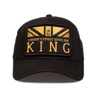 MONARCH MESH TRUCKER - BLACK/GOLD