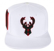 MILWAUKEE BUCKS LOGO STRAPBACK(WHITE/GUCCI COLORS)
