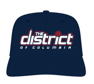 WASHINGTON WIZARDS THE DISTRICT WORDMARK STRAPBACK