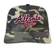 ATLANTA BRAVES WORDMARK W/LOGO STRAPBACK