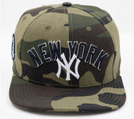 NEW YORK YANKEES WORDMARK W/LOGO STRAPBACK