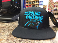 CAROLINA PANTHERS WORDMARK W/LOGO STRAPBACK