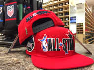 NBA ALL-STAR 2020 WORDMARK SNAPBACK - RED