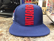WASHINGTON WIZARDS CITY TEAM VERTICAL STRAPBACK