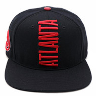ATLANTA HAWKS CITY TEAM VERTICAL STRAPBACK