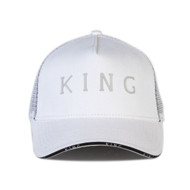 STEPNEY MESH TRUCKER CAP - WHITE