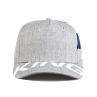 MANOR CURVED PEAK CAP - STONE GREY