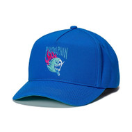 SKELETON GHOST SNAPBACK IN BLUE