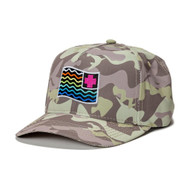 WAVES FLAG STRAPBACK IN CAMO