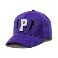 CORDUROY LIGHTNING P HAT IN PURPLE