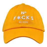 NO FUCKS GIVEN DAD HAT