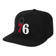 DOWNTIME CLASSIC RED SNAPBACK PHILADELPHIA 76ERS