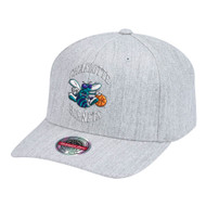 TEAM HEATHER CLASSIC RED SNAPBACK CHARLOTTE HORNETS