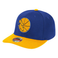 WOOL 2 TONE CLASSIC RED SNAPBACK HWC GOLDEN STATE WARRIORS