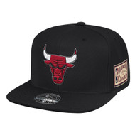 CHAMP PATCH FITTED HWC CHICAGO BULLS(BLACK)