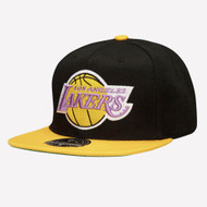 WOOL 2 TONE FITTED HWC LOS ANGELES LAKERS