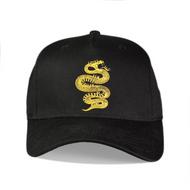 EARLHAM COBRA CURVED PEAK CAP - BLACK