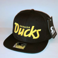 OREGON DUCKS-BLACK SCRIPT