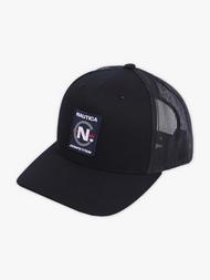 DIAMOND X NAUTICA COMPETITION TRUCKER HAT - BLACK