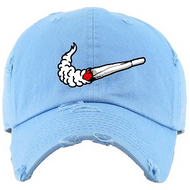 KEEP IT LIT DAD HAT - CAROLINA BLUE