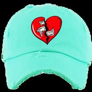 BROKEN HEART DAD HAT - MINT