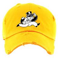 BANDIT DAD HAT - GLODEN YELLOW