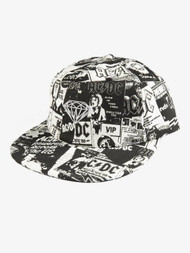WORLD TOUR HAT - BLACK/WHITE