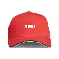 STEPNEY CURVED PEAK CAP - IMPERIAL RED